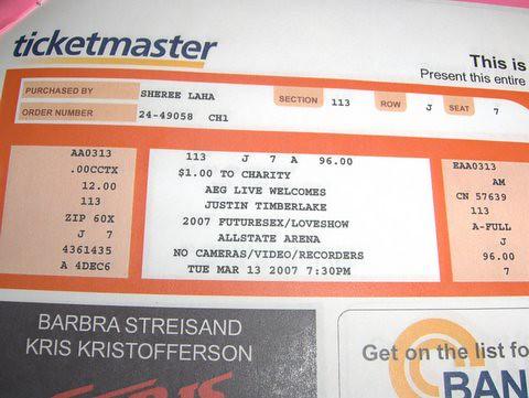 Justin Timberlake & Pink Concert by Sheree K