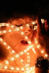 Audra (Rumspringa) Tags: light white nude lights erotic play dress sm rope spot tied audra lumiance