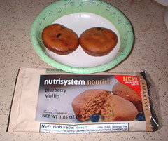 NutiSystem blueberry muffins