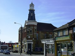 Lighthouse Methodist Church, Walthamstow (Richard and Gill) Tags: lighthouse london tower church architecture chapel bluesky methodist e17 methodism walthamstow nonconformist walthamforest markhouseroad