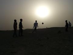 Sunset Soccer in Luxor