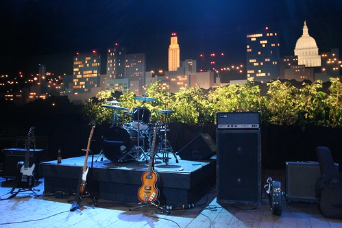 The Stage at the Austin City Limits by danhon.
