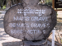 Mass Graves at Choeung Ek Killing Fields
