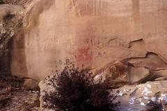 Sego Canyon (bclee) Tags: utah canyon petroglyph rockart pictograph sego nikoncoolscanived