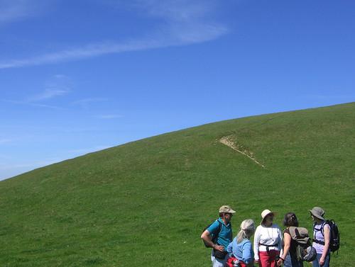 A hill's arc