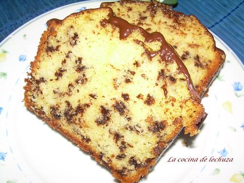 Pastel choco.porción 2