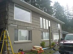 new stucco
