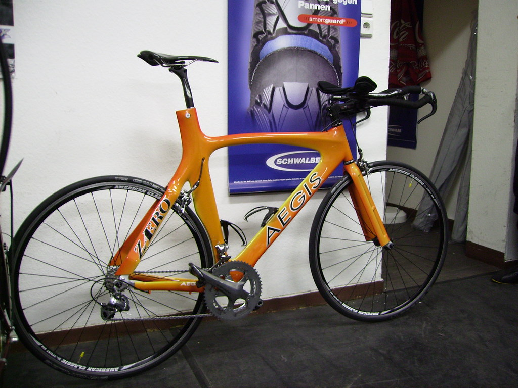 aegis zaero 2007 carbon triathlon bike with high end parts