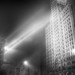 Wrigley Building in Fog