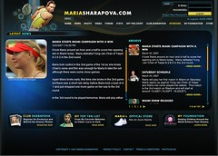 2007/3/25 News in Sharapova website