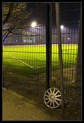 365: #11, Soccer field at night