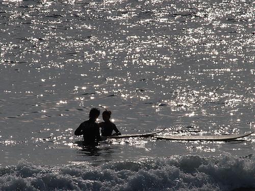 海にて 3