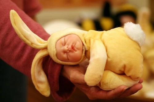 Ann Geddes Baby Bunny