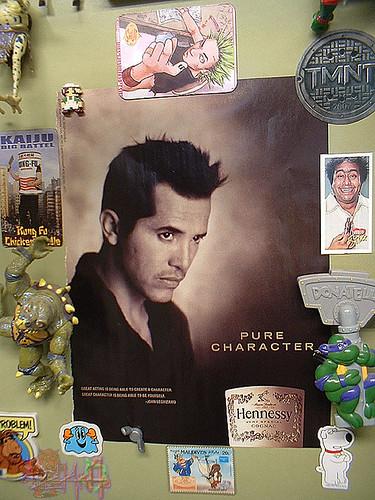 John Leguizamo/Hennessey - Character iii FRIDGE (( 2007 ))