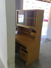 A classic student's desk