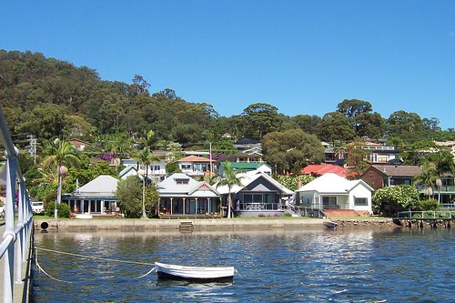 Steyne Road from the View Street Wharf Saratoga