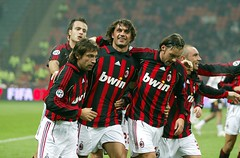 Superleague Formula's AC Milan: Goal Celebration