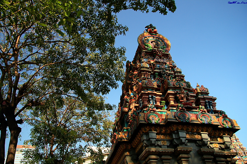 Indian Temple @ Silom Street, Bangkok