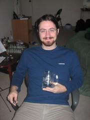 Fefe et son verre