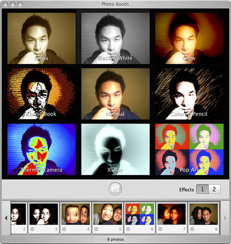 PhotoBooth works with PowerBook G4