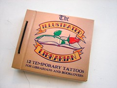 Tattoo book (L. Marie) Tags: tattoo book librarian deweydecimal