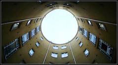Round courtyard ([ Petri ]) Tags: finland helsinki backyard kallio courtyard round cylinder kolmaslinja pyöreä sisäpiha