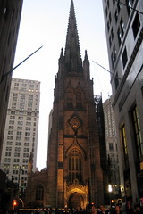 NYC - Financial District: Trinity Church by wallyg, on Flickr