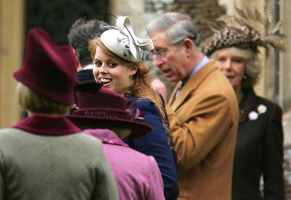 Misa navidad familia real inglesa