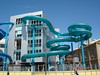 Waterslides at The Beach House, Glenelg