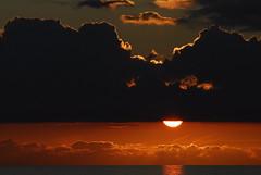 Coucher de soleil depuis Ajaccio (boleroplus) Tags: orange mer rouge nuages contrejour coucherdesoleil