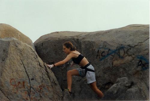 elaine climbing 1993