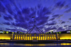 Parliament House, Canberra (Adam Dimech) Tags: house democracy australia parliament canberra commonwealth hdr act australiancapitalterritory commonwealthofaustralia tthdr diamondclassphotographer flickrdiamond auselite