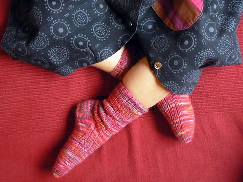 regia socks size 25