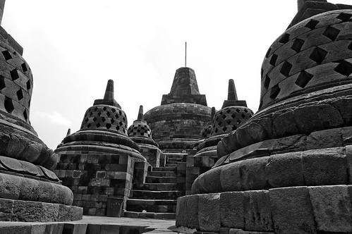 Borobudor: Stupa