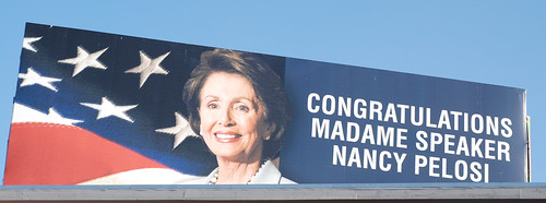 Congratulations Madame Speaker Nancy Pelosi