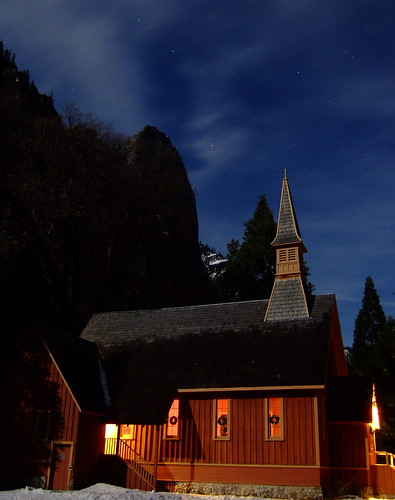 Photo of the Day: Chapel in Moonlight by Marc Crumpler