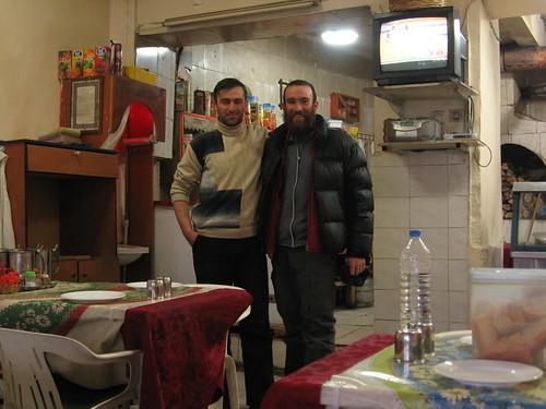 Thank you Seljuk Demirci, owner of Vatan Restaurant in Posof, eastern Turkey