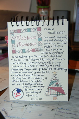 Journal Your Christmas - Day 23