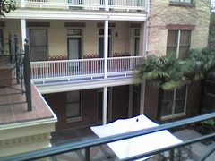 San Antonio balcony view