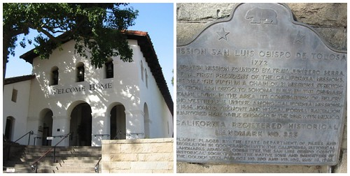 The mission in San Luis Obispo