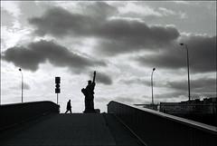 nottoday (kygp) Tags: sky people bw paris france film analog 35mm liberty photography elisa kygp kygpuk dudnikova