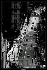 a NYC Street (Arnold Pouteau's) Tags: street nyc newyorkcity bw downtown manhattan grounzero