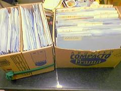 Caixas-arquivo em 12/jan/2007
