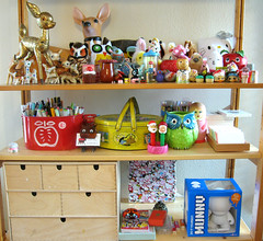 I like toys (Katey Nicosia) Tags: vintage toys deer collection trinkets