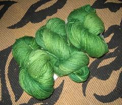 lucious green malabrigo