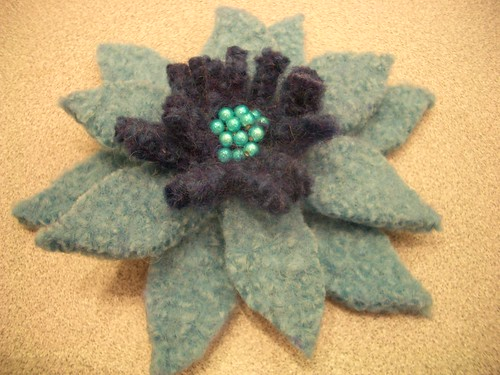 Nicky Epstein's Felted Cut Flower Class