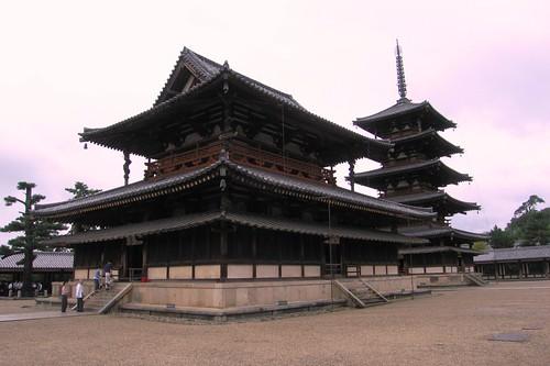 Horyuji Temple - Nara, Japan