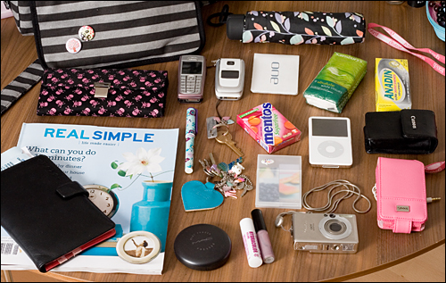 What's in my bag - UK edition