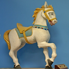 Carved Circus Pony
