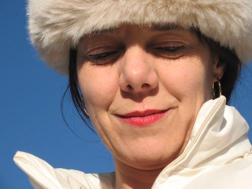 Milena in winter